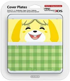 [Amazon Prime] Melinda Animal Crossing New 3DS Zierblende für 1,79€