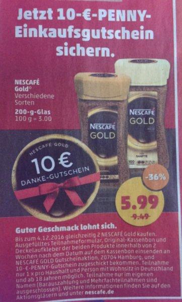 ABGELAUFEN [Penny offline] 2 Nescafé Gold für rechnerisch insgesamt 1,98€