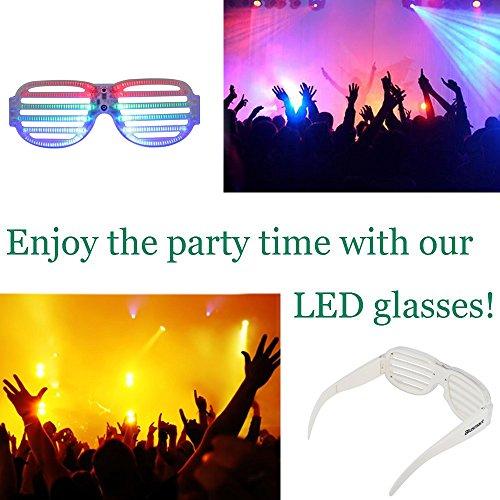"""LED Partybrille für 7,99 :D 5 Euro günstiger als der """"normal"""" Preis"""