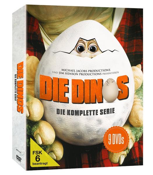 Die Dinos – komplette Serien DVD Box (9 Disk) für 23,79€ inkl. Versand