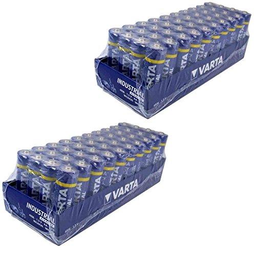 80 x Varta Batterien Alkaline, Mignon, AA, LR06, 1.5V für 19,90€ Amazon Prime oder 20,95€ bei eBay
