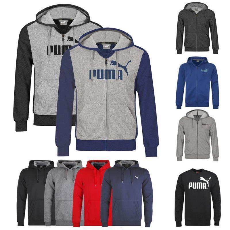 Puma Herren Kapuzensweatshirt, Kapuzensweatjacke bzw. Sweatshirt versch. Farben  29,95euro statt 59,95 euro