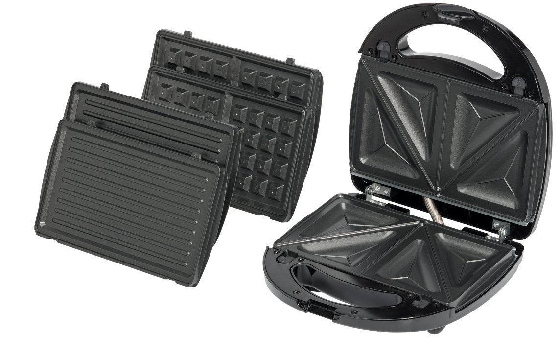 [ebay wow] Medion MD 15365 Sandwichmaker/Waffeleisen/Kontaktgrill mit auswechselbaren Platten für 13,50 € (PVG 24,95 €)