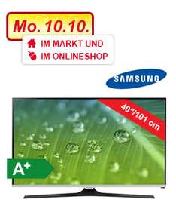 [REAL.Online] Samsung UE40J5150 Full HD LED TV, Triple Tuner (DVB-T/C/S2), 2x HDMI