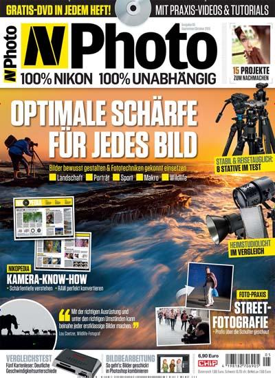 N-Photo Magazin im Jahresabo für  39,90€ mit 30€ Universalgutschein inkl. Amazon-Gutschein (Kein Werber nötig)