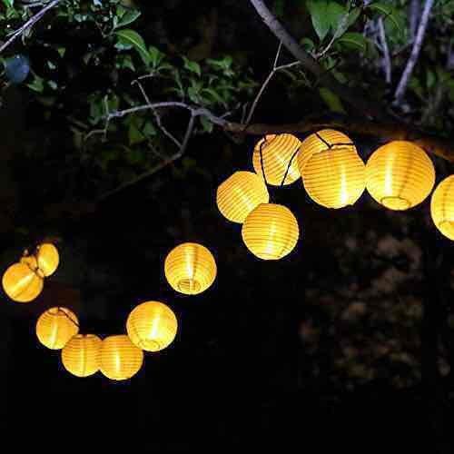 [Amazon Prime] LED Laternen Lichterkette