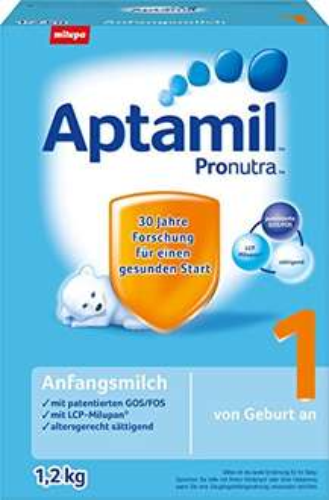 Aptamil Pronutra 1 Anfangsmilch, von Geburt an, 3er Pack (3 x 1.2 kg) ab 15€