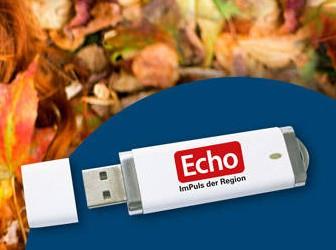 [Regional: Rhein-Main] Echo Print & Web Plus 2 Wochen Kostenlos + 8GB USB Stick, Selbstkündigend