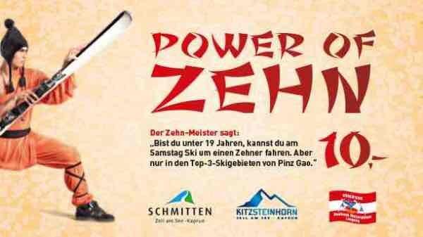 Skipass für 10€ jeden Samstag in 3 Skigebieten unter 19 Jahre