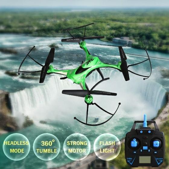 """Wasserdichte 2.4G 4CH 6-Achsen Gyro Drohne mit """"Headless Mode"""" für 26,49€"""