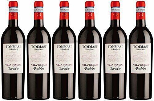 Tommasi Viticoltori Bardolino Vigneto Villa Fontana Cuvée 2014 trocken (6 x 0.75 l)