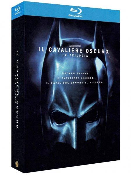 2x The Dark Knight Trilogie (5 Blu-rays) für 19,84€ (Amazon.it)