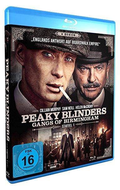 Peaky Blinders Staffel 1 und 2 auf Blu-ray für je 11,97 statt 20,50 € [Amazon]