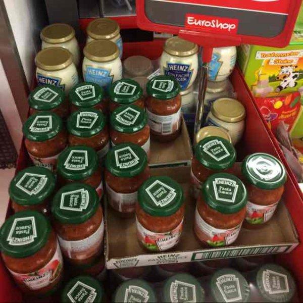[ Schum Euroshop ] Heinz Bolognese , Mayonnaise und Salatcreme