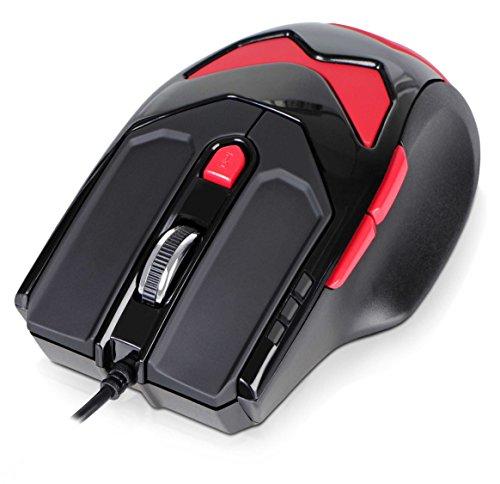 Amazon: DONZO SI-959 kabelgebundene Laser Gaming Maus für 12,95 €