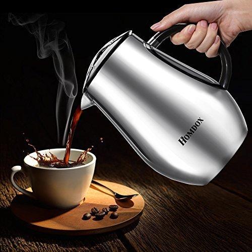 [amazon.de] Tee-/Kaffebereiter/-kanne aus Edelstahl