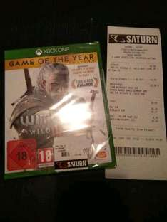 [Saturn Aachen] The Witcher 3: Wild Hunt Game of the Year Edition [Xbox One]