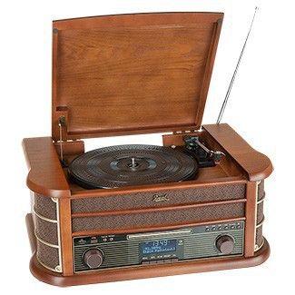 Dual Stereo-Nostalgie-Komplettanlage DAB NR50; 189,-- @norma24.de