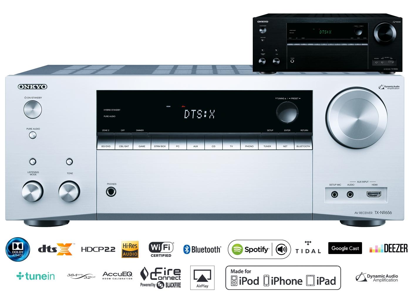 [Media Markt Hamburg] Onkyo TX-NR656 für 399€ statt 495€ 7.2-Kanal-A/V-Netzwerk-Receiver (160 W/Kanal,DTS:X aufrüstbar, Dolby Atmos, AirPlay)