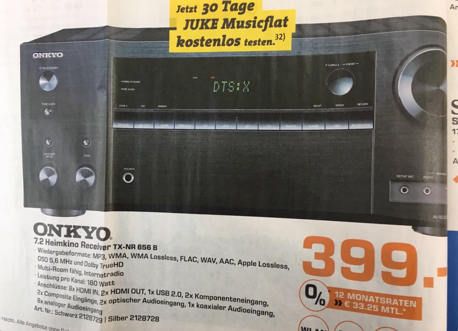 ONKYO TX-NR 656 [ Saturn Essen Limbecker Platz]