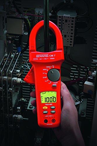 Benning CM-7  - TRUE RMS AC/DC-Digital-Stromzangen-Multimeter der höchsten Messkategorie