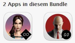[iOS] The GO Collection: Lara Croft GO & Hitman Go für zusammen 0,99 EUR
