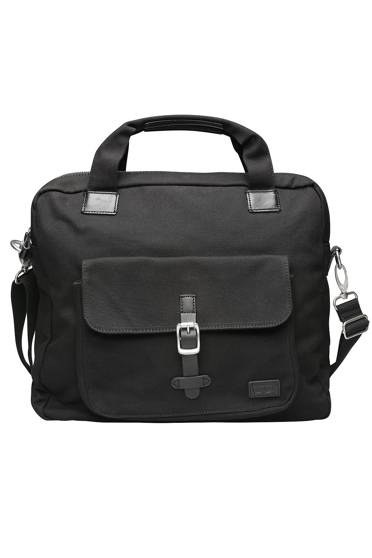 [@outlet46] Levix27s Messenger Bag Umhängetasche Schwarz 219295/23 59
