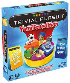 Familienspiel Trivial Pursuit Familien Edition für 23,99€ mit [Amazon Prime]