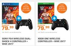 Ps4/Xbox One Controller + WWE 2k17  [Saturn LN Shopping]