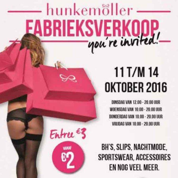 Hunkemöller Outlet -bis zu 90 %- in Twente / Enschede