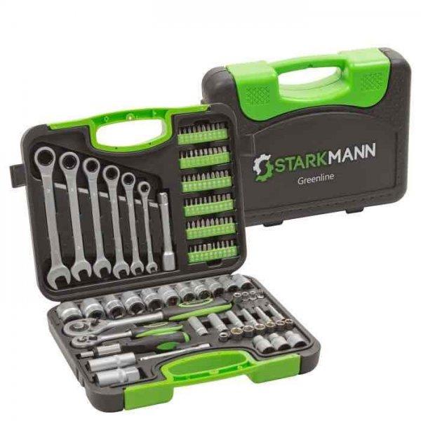 Starkmann Werkzeugkoffer mit 104 Teilen für 39,99€  anstatt idealo 66€ [ebay wow]