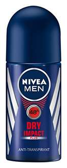 [Amazon Tagesdeal] nivea pflegeprodukte bis 50 % reduziert, zB. dry impact Deoroller 6er Pack