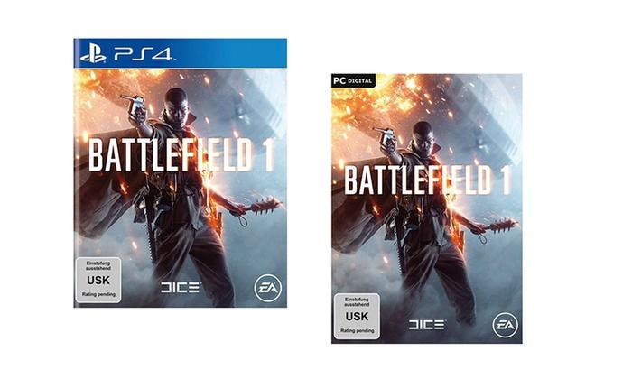 Battlefield 1 für PS4 bei Groupon mit Neukunden-Gutschein für 49,99€