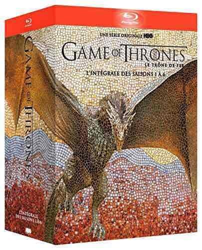 Game of thrones 1 - 6 vorbestellen / komplett auf Bluray bei Amazon.fr