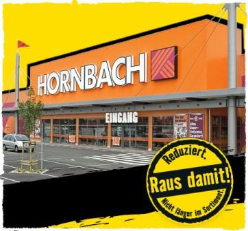 [Hornbach lokal] Raus damit! Viele reduzierte Preise ab 0,01€