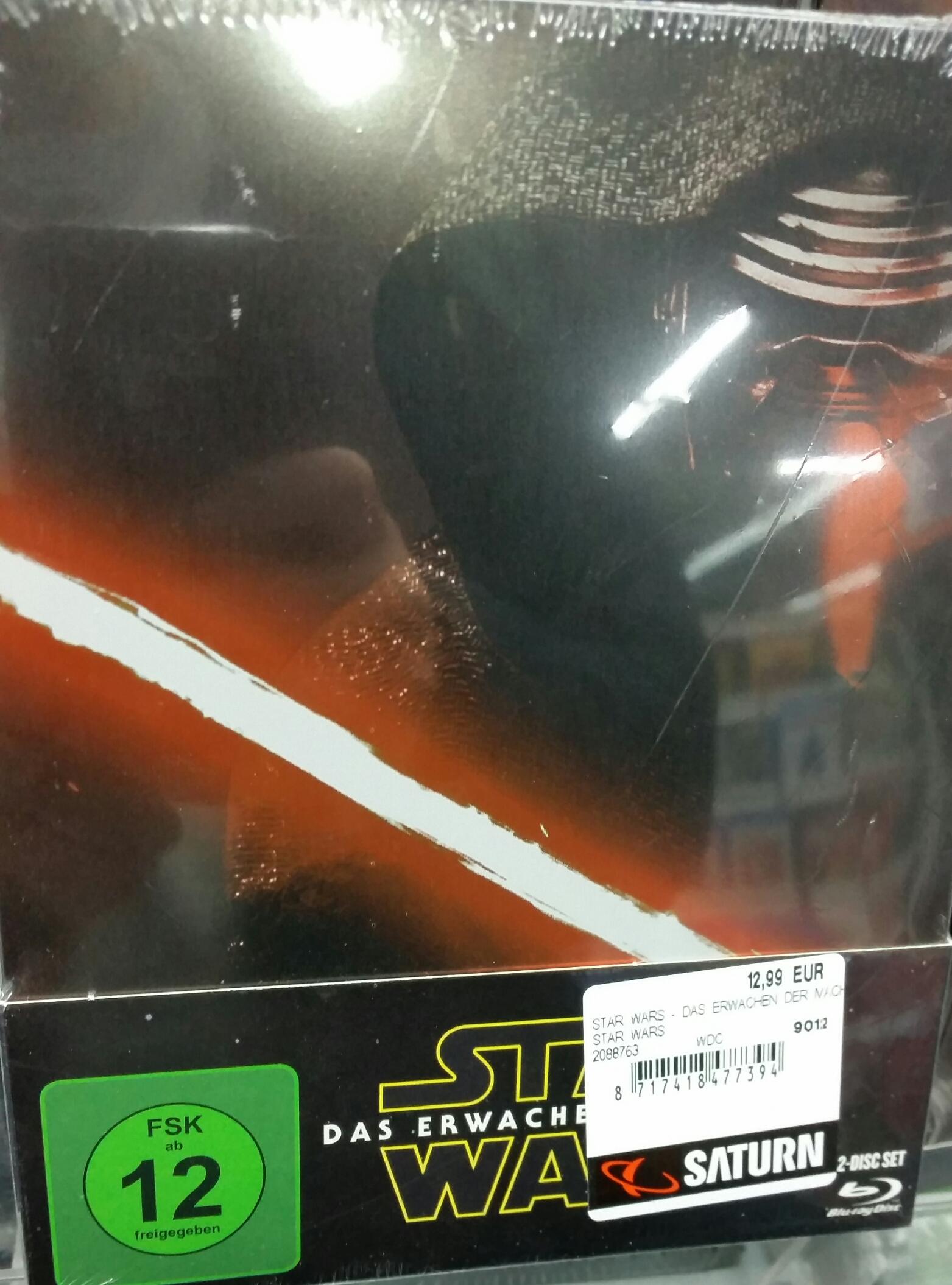 [Saturn HH] Blu-Ray Steelbook Star Wars- Das Erwachen der Macht