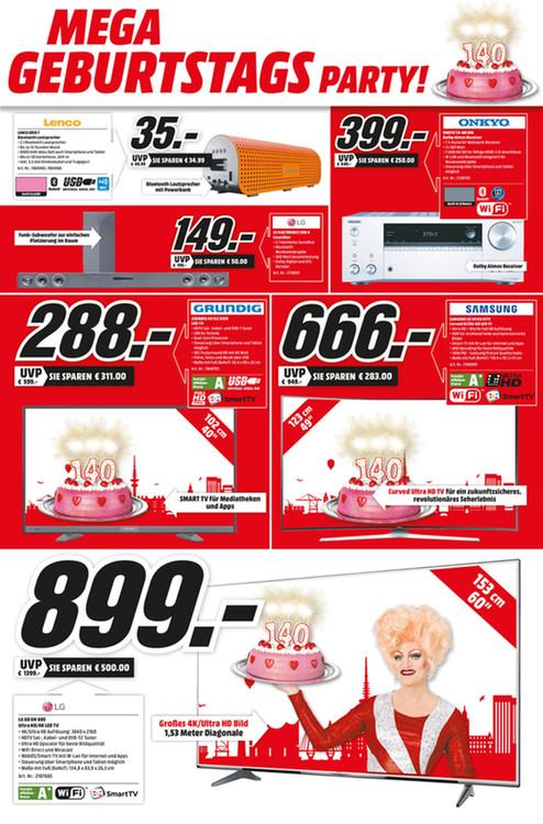 [LOKAL HH] LG 60UH605V 60 Zoll 4K UHD Smart TV für 899 €