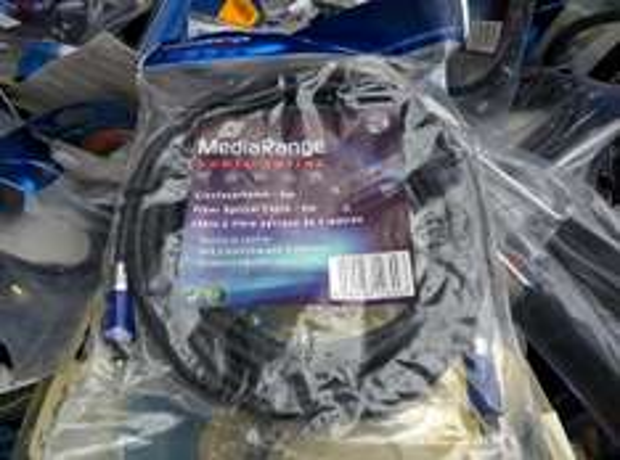 (local) [Fundgrube Linden] MediaRange Glasfaserkabel (Toslink) bis 5m - 0,20€/Stück