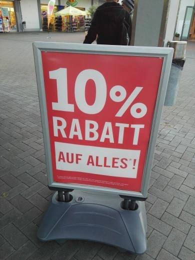 [Lokal Lidl Langensenbold] 10% auf alles bei Lidl!