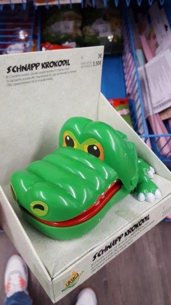 Schnapp Krokodil wie Krokodoc für nur 3€ [Tedi]