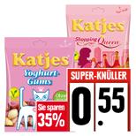 Edeka: Katjes Fruchtgummi oder Lakritz (150-200gr) für 0,55€