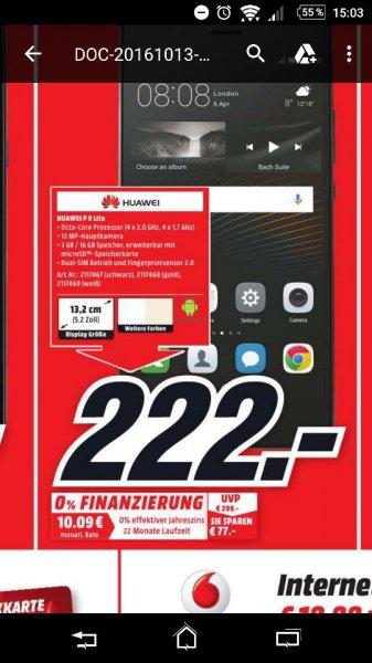 Huawei p9 lite (LOKAL Dortmund Indu.)
