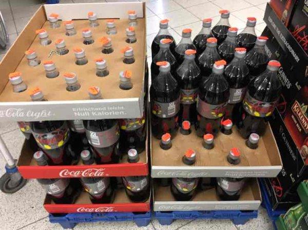 Coca-Cola light  1,5L Plaza Center Lübeck