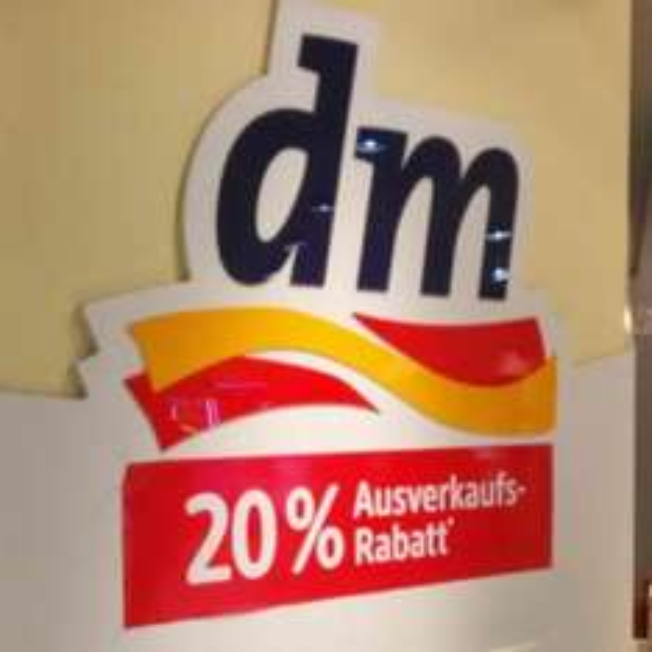 [Lokal] dm Frankfurt Konstablerwache 20% Ausverkaufsrabatt!