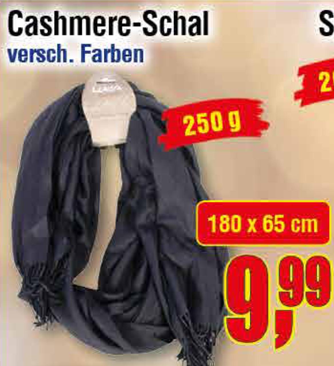 [Centershop] Cashmere Schal 9,99€