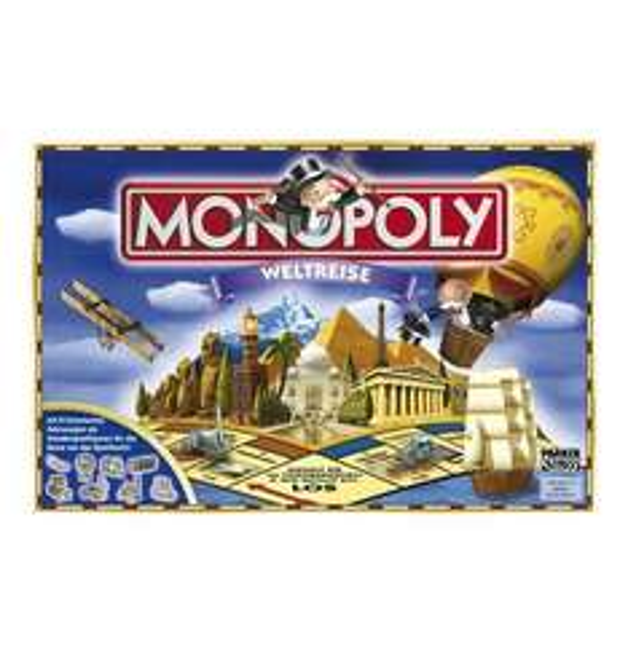 Monopoly Weltreise bei Galeria Kaufhof