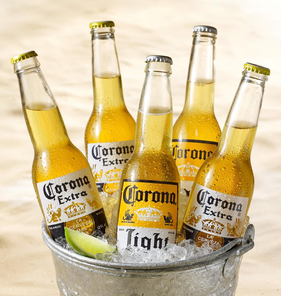Rewe Sixpack  Corona + Flaschenöffner