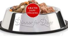 Gratisprobe Hundefutter @ Dinner for Dogs