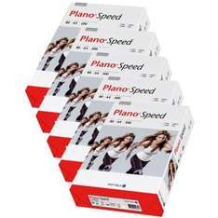 Papyrus Kopierpapier Plano Speed Weiß (80g/m2, DINA4, 5 x 500 Blatt)