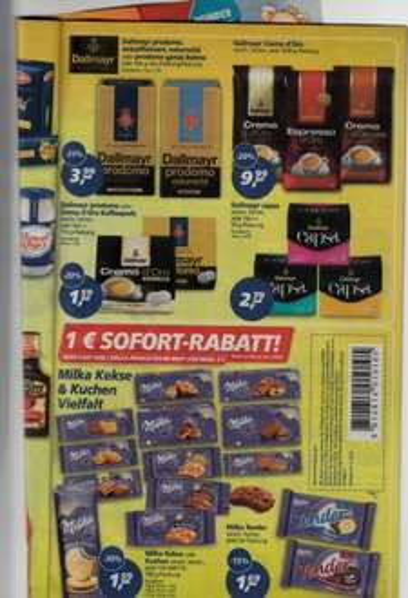 Real - Milka Aktion 5 Euro = 1 Euro Rabatt